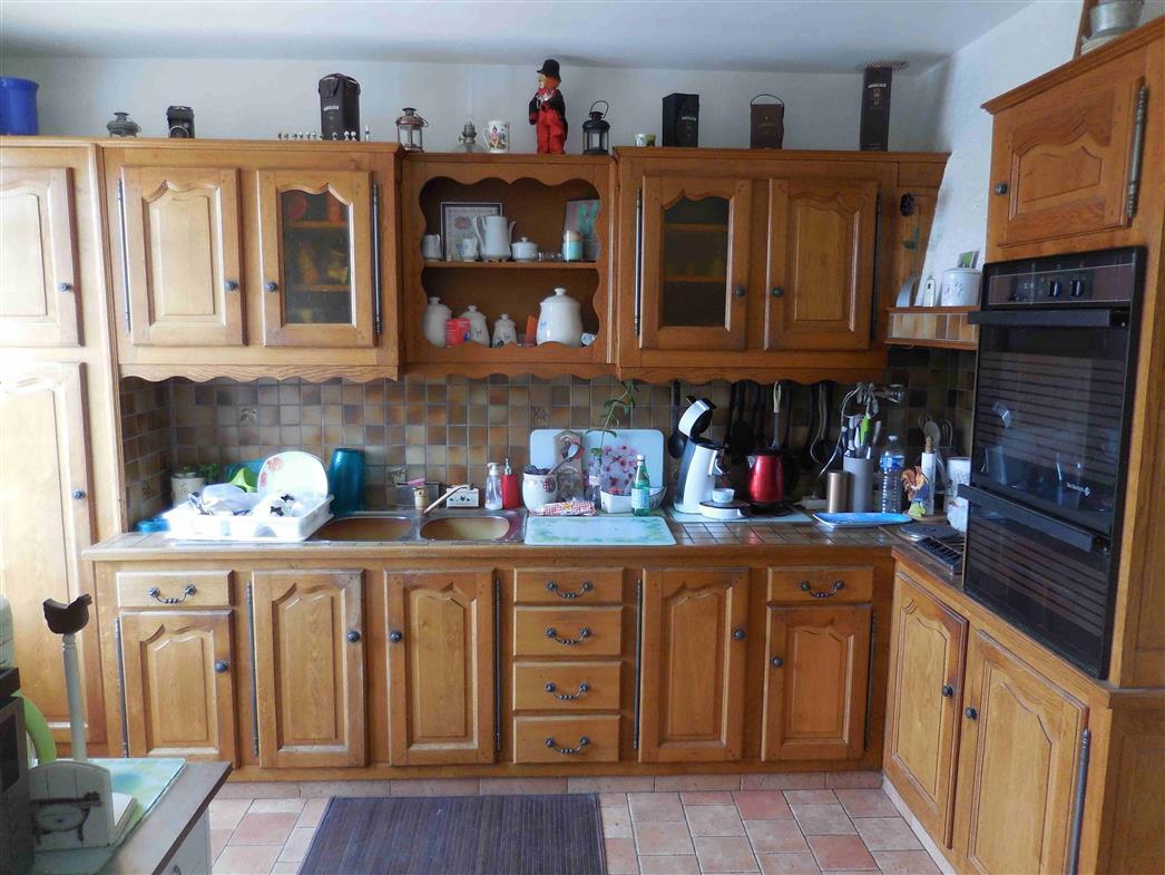 Maison de bourg proche Bellême - cuisine